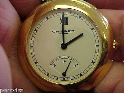 Spectacular 18k Gold CHAUMET  Power Reserve Watch Unisex  Must See!   Make Offer