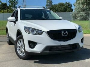 2013 Mazda CX-5 KE1021 MY13 Maxx SKYACTIV-Drive AWD Sport Crystal White 6 Speed Sports Automatic