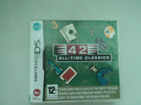 FOR SALE Boxed Nintendo DS Lite/DSi Game Cartridge 42 All Time Classics Board/Card and Parlour games