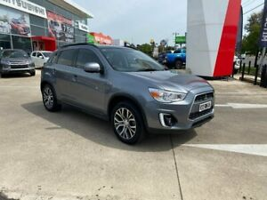 2015 Mitsubishi ASX XB MY15 XLS 2WD Grey 6 Speed Constant Variable Wagon Hoppers Crossing Wyndham Area Preview