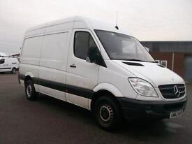 Mercedes-Benz Sprinter 313 CDI MWB HIGH ROOF VAN DIESEL MANUAL WHITE (2012)