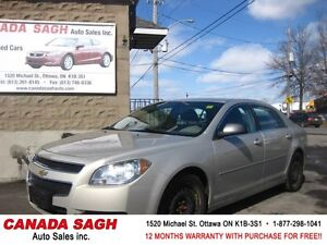2010 Chevrolet Malibu EXTRA SET OF TIRES INCLUDED, 12M.WRTY$6490