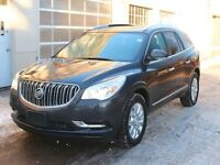 2014 Buick Enclave Leather AWD DUAL SUNROOF CHROME WHEELS LOW KM