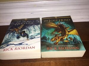 Percy Jackson Books Kawartha Lakes Peterborough Area image 1