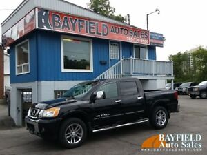 2015 Nissan Titan SL Crew Cab 4x4 **Leather/Sunroof/Navi/Only 14