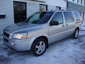 "$3900!! 2006 CHEV UPLANDER ""LT"" LOADED!! T/V! SAC FOR ONLY $3900"