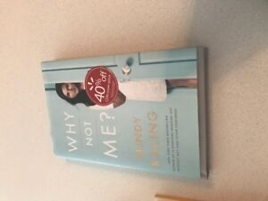Mint condition Book - Why not me? By Mindy Kaling -  $10 only