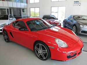 2007 Porsche Cayman 987 MY08 Red 5 Speed Manual Coupe Albion Brisbane North East Preview