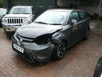 2014 MG3 1.5 VTi-Tech 106ps 3Style Lux 5DR SALVAGE DAMAGED REPAIRABLE DRIVES
