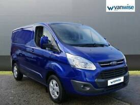 2015 Ford Transit Custom 2.2 TDCi 125ps Low Roof Limited Van Diesel blue Manual