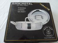 Gam'Hotel Les Trois Toques Saute Pan/Casserole 32cm