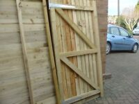 FULLY PREASURE TREATED GARDEN 6X3 GATE ORDERS TAKEN FOR NEXT MARCH HINGES ARE EXTRAS