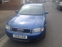 Audi A4 1.9 tdi sport drives perfectly and very economical to run long mot 50 mpg 2 keys