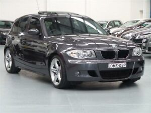 2004 BMW 120i E87 Sparkling Graphite 6 Speed Automatic Hatchback Seven Hills Blacktown Area Preview