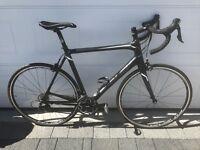 Ridley Fenix full carbon fibre road bike, Shimano 105, large frame