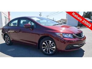 2015 Honda Civic Sedan EX, 2500$ Rebate !!