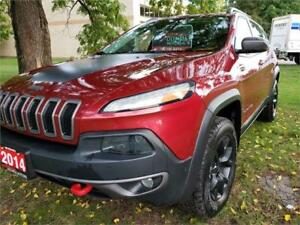 2014 Jeep Cherokee Trailhawk V6 4WD LOADED **LIKE NEW**