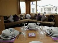 6 berth static holiday home, 12 month park, direct beach access,full facilities