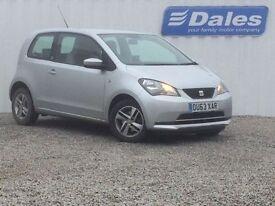 Seat Mii 1.0 75 SE 3dr Auto (silver) 2013