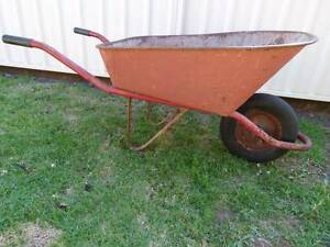 Metal wheelbarrow Flinders Shellharbour Area Preview