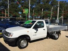 1998 Nissan Navara D22 DX White Manual Cab Chassis Islington Newcastle Area Preview