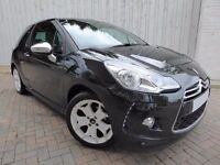 Citroen DS3 1.6 VTi Black & White Edition ....Superb Low Mileage Example, Sporty Car Great Economy