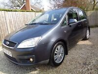 ** SUPERB EXAMPLE 2006 FORD FOCUS CMAX MPV 1.8 GHIA ONLY 79K FSH **