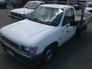 2000 Toyota Hilux RZN149R White Manual Utility Pearsall Wanneroo Area Preview