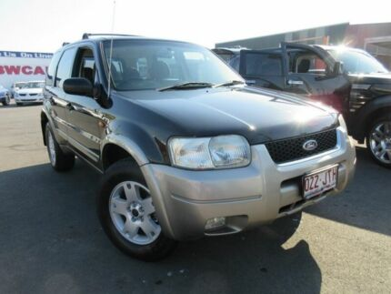 2006 Ford Escape ZB XLT Black 4 Speed Automatic Wagon Moorooka Brisbane South West Preview
