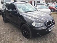 2010 BMW X5 xDrive30d M Sport Automatic 4 X 4 DIESEL TRIPLE BLACK 7 SEATER