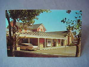 Topinka-Country-House-Restaurant-Detroit-MI-Postcard