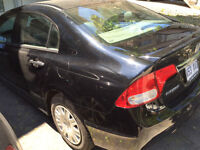 ** SUPER 38000 KM HONDA CIVIC  2010 DX (like new - comme neuve)