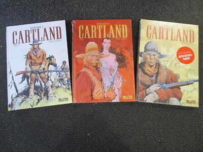Cartland  Gesamtausgabe 1,2,3  komplett  Integral  Splitter Verlag Neuware
