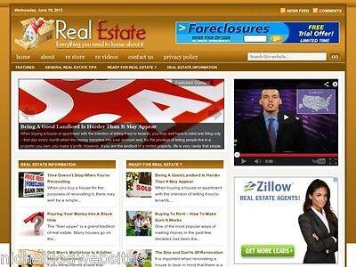 Real Estate   House   Homes For Sale Wordpress Blog Website For Sale