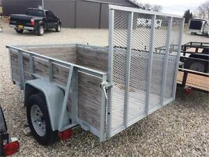 Brand New 2017 Force Galvanized Utility Trailer London Ontario image 2