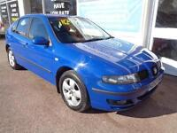 Seat Leon 1.6 1595cc 2003 S 12 service stamps in book Full MOT