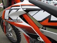KTM 350 FREERIDE EXC 2013 ENDURO ROAD REGISTERED GREEN LANE