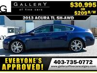 2013 Acura TL SH-AWD $209 bi-weekly APPLY NOW DRIVE NOW