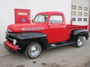 1952 Ford F-100 Classic ~ Flathead V8 ~ 3 Speed ~ $14,999