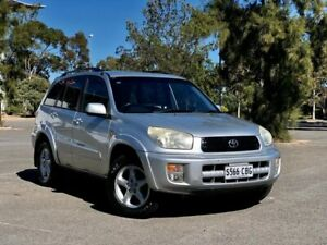 2003 Toyota RAV4 ACA21R Cruiser Silver 4 Speed Automatic Wagon Mile End South West Torrens Area Preview