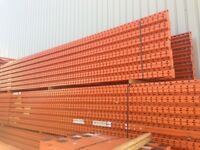 Used Redirack Warehouse Racking - Pallet Racking - 48 bays 5m H x 900mm D 2.7m W x 4 Levels