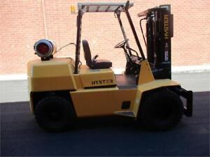 Forklift Hyster H80XL , outdoor Dully 3 Stage and sideshift