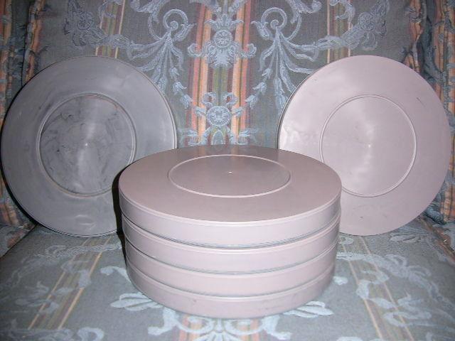 SIX- 600ft 16mm Plastic Film CANS - NEW