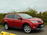 TOYOTA RAV4 2.2 D-4D ICON 5d (red) 2013