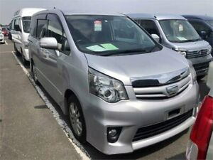 2010 Toyota Noah ZZR70W Silver Constant Variable Van Wodonga Wodonga Area Preview