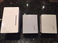 TP Link Wifi Powerline Extender Triple Pack