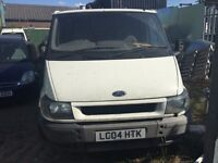 2004 Ford Transit, starts and drives well, cheap van, located in Gravesend Kent, no MOT, any questio