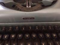 Vintage typrwriter