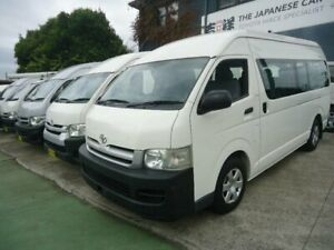 2006 Toyota HiAce TRH223R MY07 Commuter White 4 Speed Automatic Bus