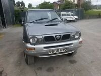 breaking grey nissan terrano diesel td27 4x4 parts spares